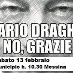 SIT- IN SABATO 13 FEBBRAIO DALLE ORE 10.30 A PIAZZA UNIONE EUROPEA  A MESSINA